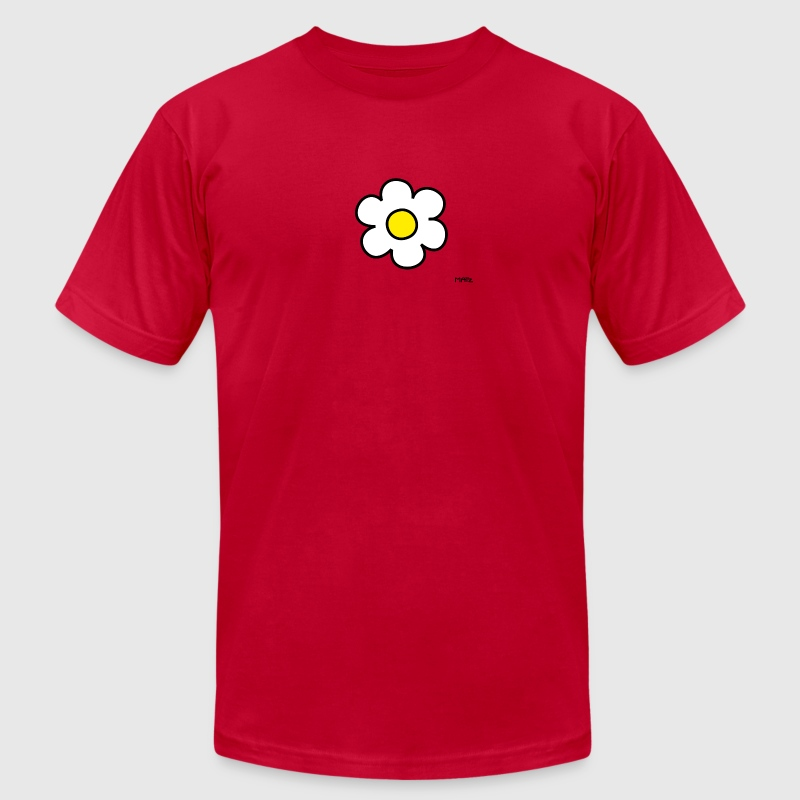 daisy flower (white/yellow) - Men's Fine Jersey T-Shirt