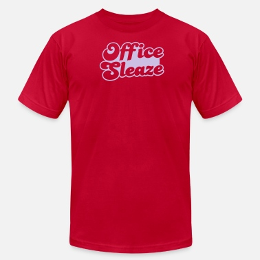 Sleaze office sleaze (maybe NSFW in an office anyway!) - Men's Jersey T-Shirt