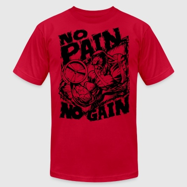 Gain No Pain No Gain - Men's Fine Jersey T-Shirt