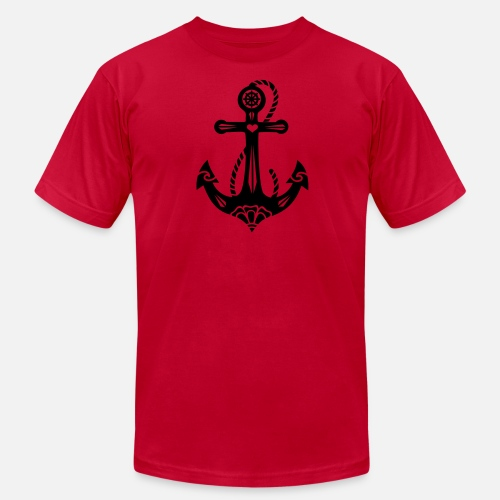 e604202b95dd1 Men s Jersey T-ShirtAnchor   Sacred Rose