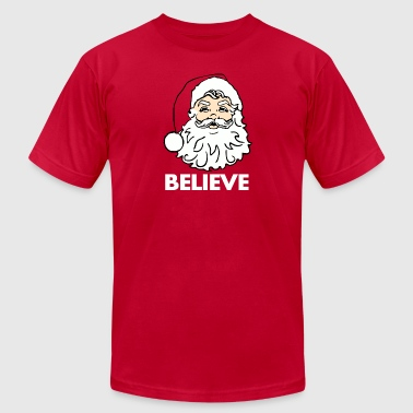 I Believe in Santa Claus - Men's Fine Jersey T-Shirt