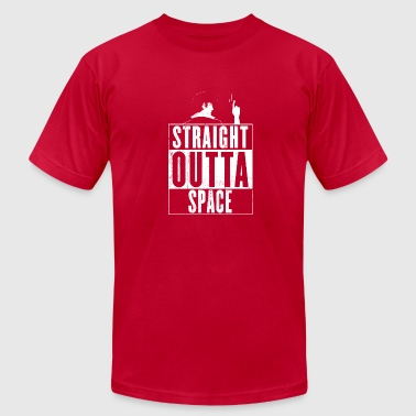 Straight Outta Space Straight Outta Space Cowboy Bebop - Men's Fine Jersey T-Shirt