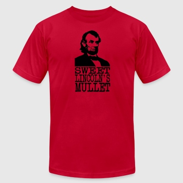 Sweet Lincoln's Mullet - Men's Fine Jersey T-Shirt