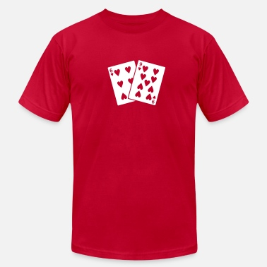 69 Heart 69 of Hearts - Men's  Jersey T-Shirt