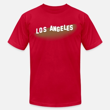 Hollywood Sign Los Angeles Hollywood Sign - Men's  Jersey T-Shirt