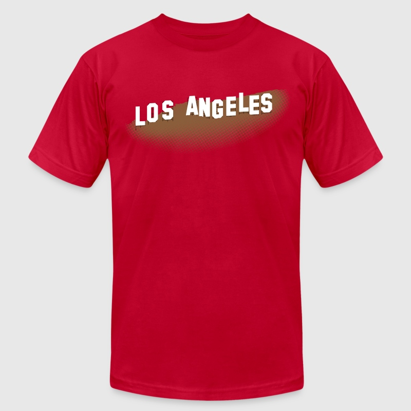 Los Angeles Hollywood Sign - Men's Fine Jersey T-Shirt