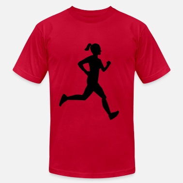 Runner Girl Girl Runner - Men's  Jersey T-Shirt