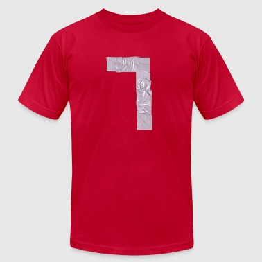 duct tape number 7 a  - Men's Fine Jersey T-Shirt