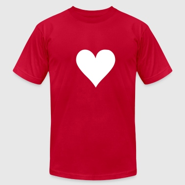 Poker heart - Men's Fine Jersey T-Shirt