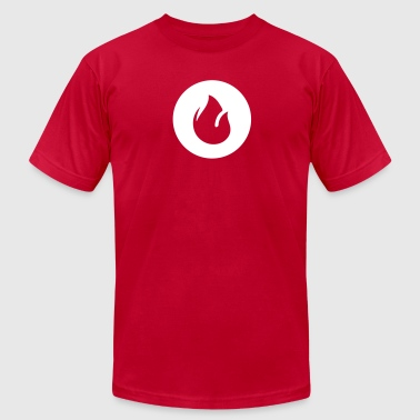 Bush Fire Fire - Men's Fine Jersey T-Shirt
