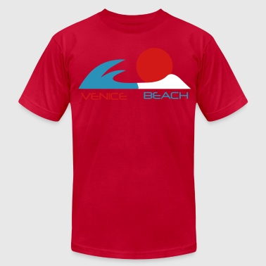venice beach california - Men's Fine Jersey T-Shirt