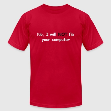 no fix puta - Men's Fine Jersey T-Shirt