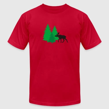 King of the forest - Men's Fine Jersey T-Shirt