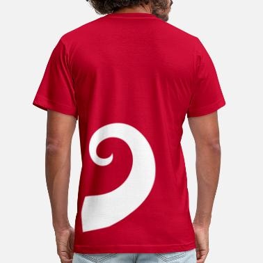 Tails tail - Men's  Jersey T-Shirt