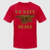 US NAVY SEALS vec - Men's Fine Jersey T-Shirt