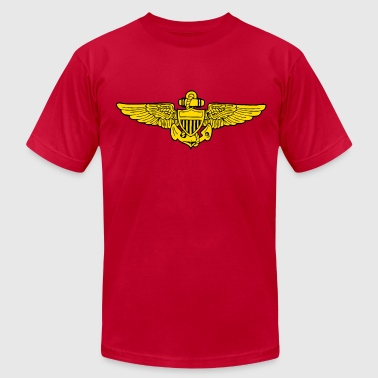 US NAVY AVIATOR - Men's Fine Jersey T-Shirt