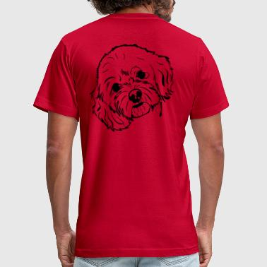 cockapoo - Men's Fine Jersey T-Shirt