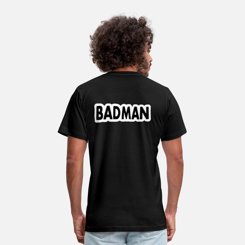 ShirtSpreadshirt Men's Badman T Shirts Jersey USVLMqzpG