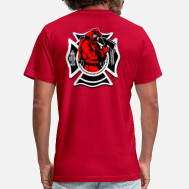 Irish Fire Department Fire Department Logo 2 - Men's Jersey T-Shirt