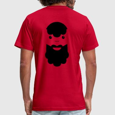 Beard Man BEARDED MAN - Men's Fine Jersey T-Shirt