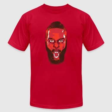 James Harden Fear The Beard Tee By BAD Clothing - Men's Fine Jersey T-Shirt