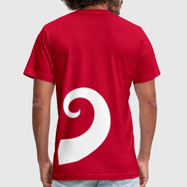 tail - Men's Fine Jersey T-Shirt