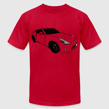Fast Car - Men's Fine Jersey T-Shirt