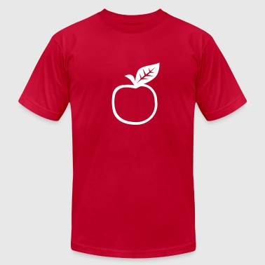 Apple - Men's Fine Jersey T-Shirt