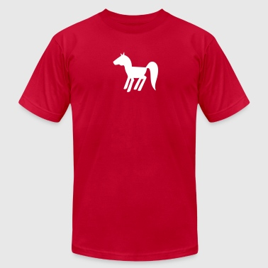new horsey shape - Men's Fine Jersey T-Shirt