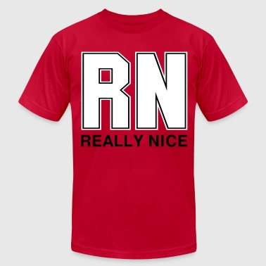 RN Really Nice - Men's Fine Jersey T-Shirt