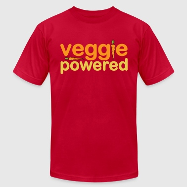 Veggie Powered - Men's Fine Jersey T-Shirt