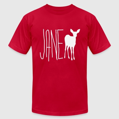 Jane Doe - Men's T-Shirt by American Apparel