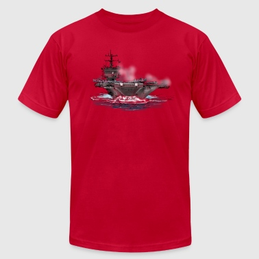 aircraft carrier - Men's Fine Jersey T-Shirt
