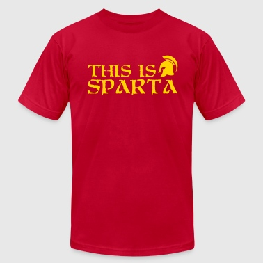 This is Sparta - Men's Fine Jersey T-Shirt