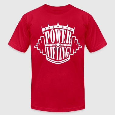 powerlifting - Men's Fine Jersey T-Shirt