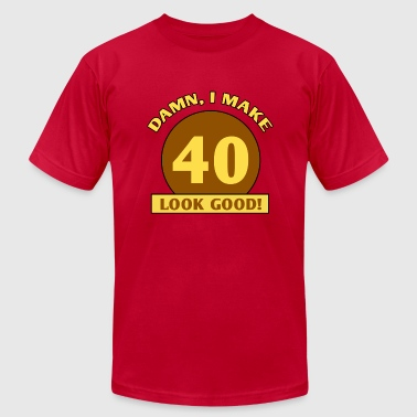 40th Birthday Gag Gift - Men's Fine Jersey T-Shirt