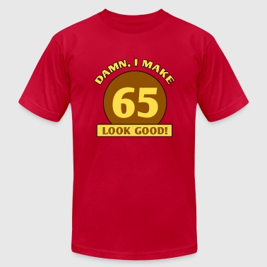 65th Birthday Gag Gift - Men's Fine Jersey T-Shirt