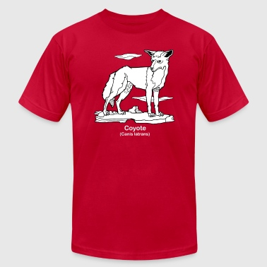 Coyote - Men's Fine Jersey T-Shirt