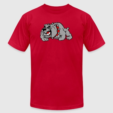 bulldog - Men's Fine Jersey T-Shirt
