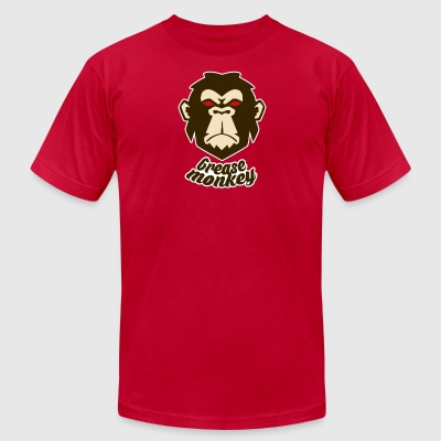 Grease Monkey - Men's T-Shirt by American Apparel