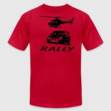 rally - Men's Fine Jersey T-Shirt