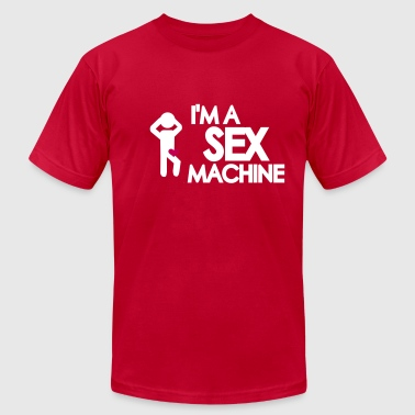 Sex machine - Men's Fine Jersey T-Shirt