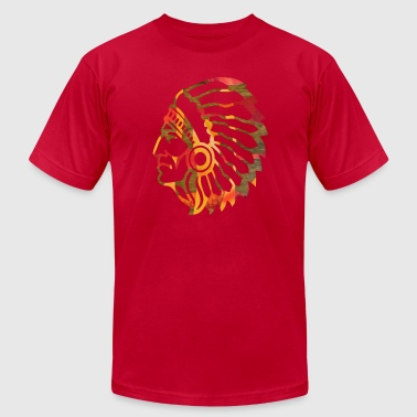 NATIVE AMERICAN INDIAN - Men's Fine Jersey T-Shirt