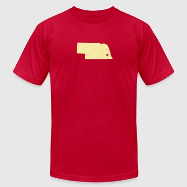 Lincoln, NE - Men's Fine Jersey T-Shirt