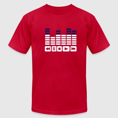 Equalizer - Men's Fine Jersey T-Shirt