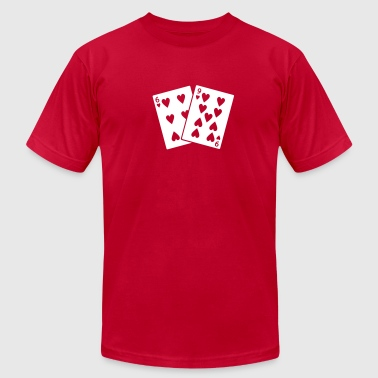 69 of Hearts - Men's Fine Jersey T-Shirt