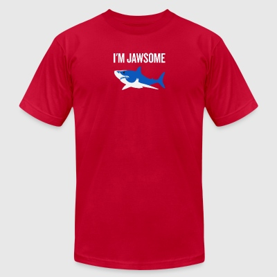 im jawsome v2 - Men's T-Shirt by American Apparel