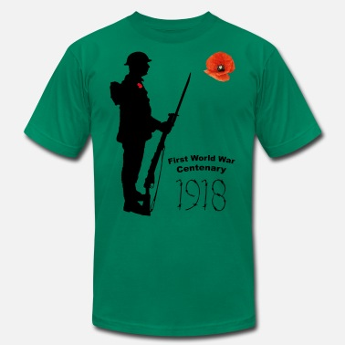 World War 1 Centenary First World War 1918 - Men's Jersey T-Shirt