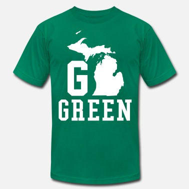 Go GREEN - Men's Fine Jersey T-Shirt
