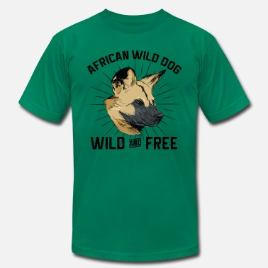 African Wild Dog International Dog Day - African Wild Dog - Men's  Jersey T-Shirt